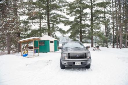 Winter Camping Mew Lake