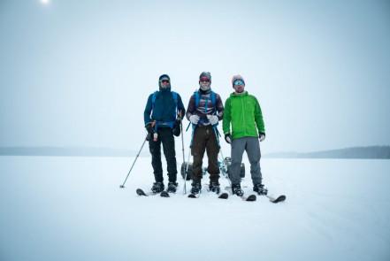Ryan, Buck, Eric, Otterslide Lake