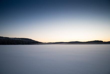 Sunrise on Hogan Lake