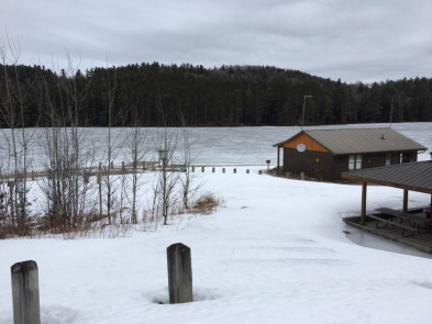 Lake Opeongo March 5th 2018 Ice Out