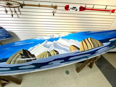 Lawren Harris Canoe