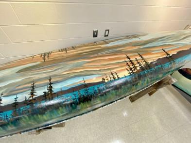 J. E. H. MacDonald Canoe