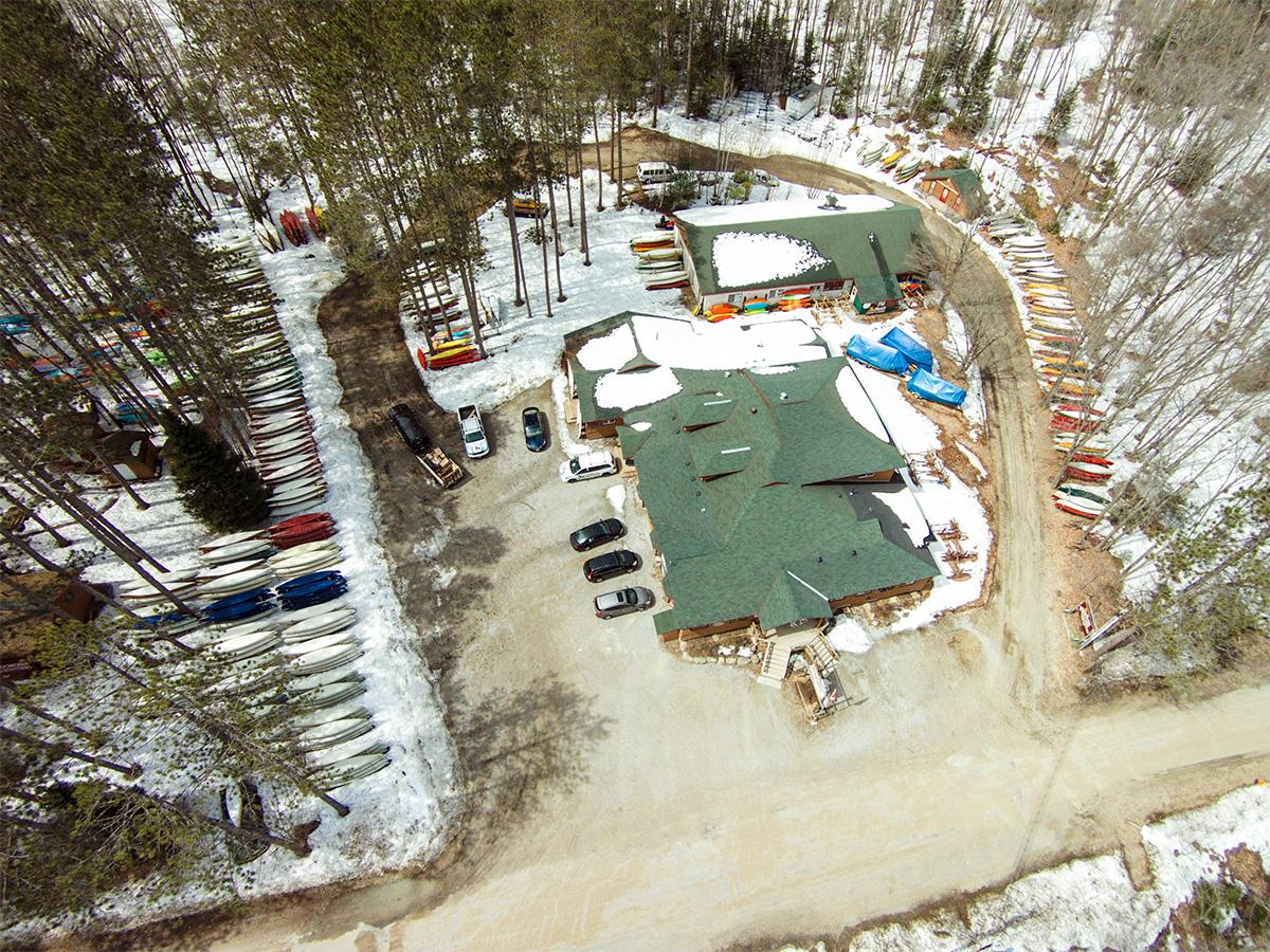 Oxtongue Lake Aerial