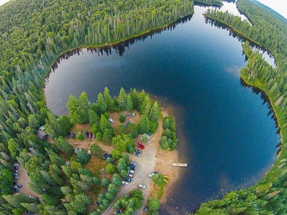 Rain Lake Access Point