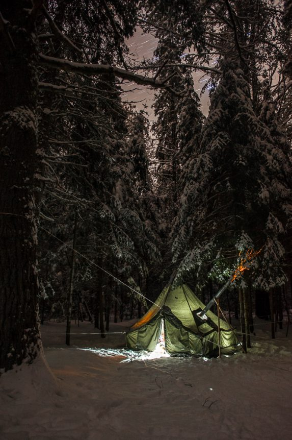 Winter Camping in Algonquin Park