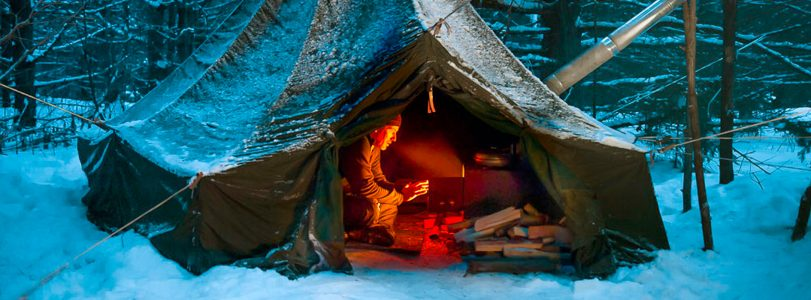 Winter Camping in Algonquin Park – Shelters