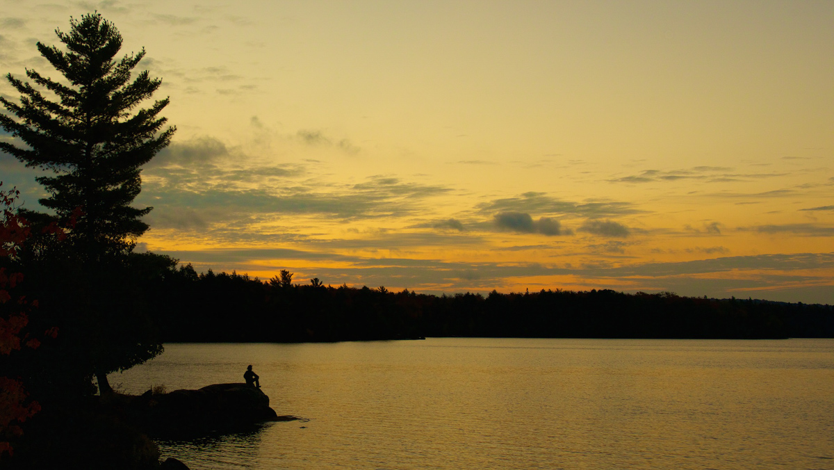 Autumn Sunsets in Algonquin Park