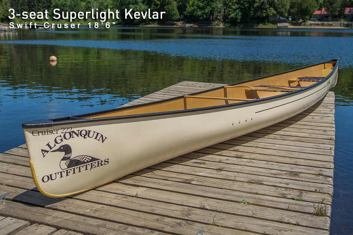 Canoe Rental - Algonquin Outfitters - Algonquin Provincial Park