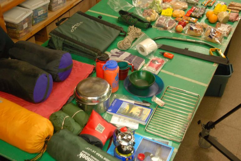 Custom Guided Canoe Trip Gear