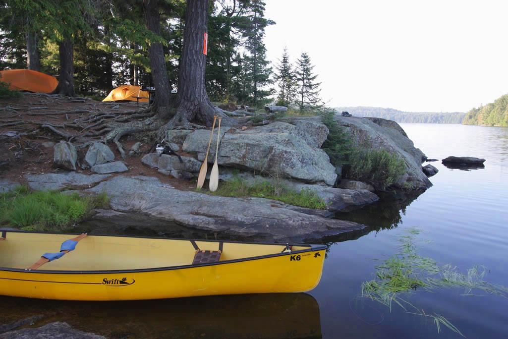 Lightweight Canoe Trip Outfitting