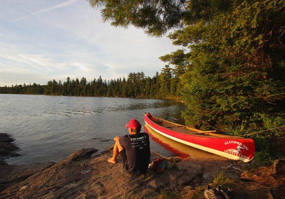 Algonquin Park Day Trip Canoe