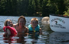 Algonquin Lake Swim