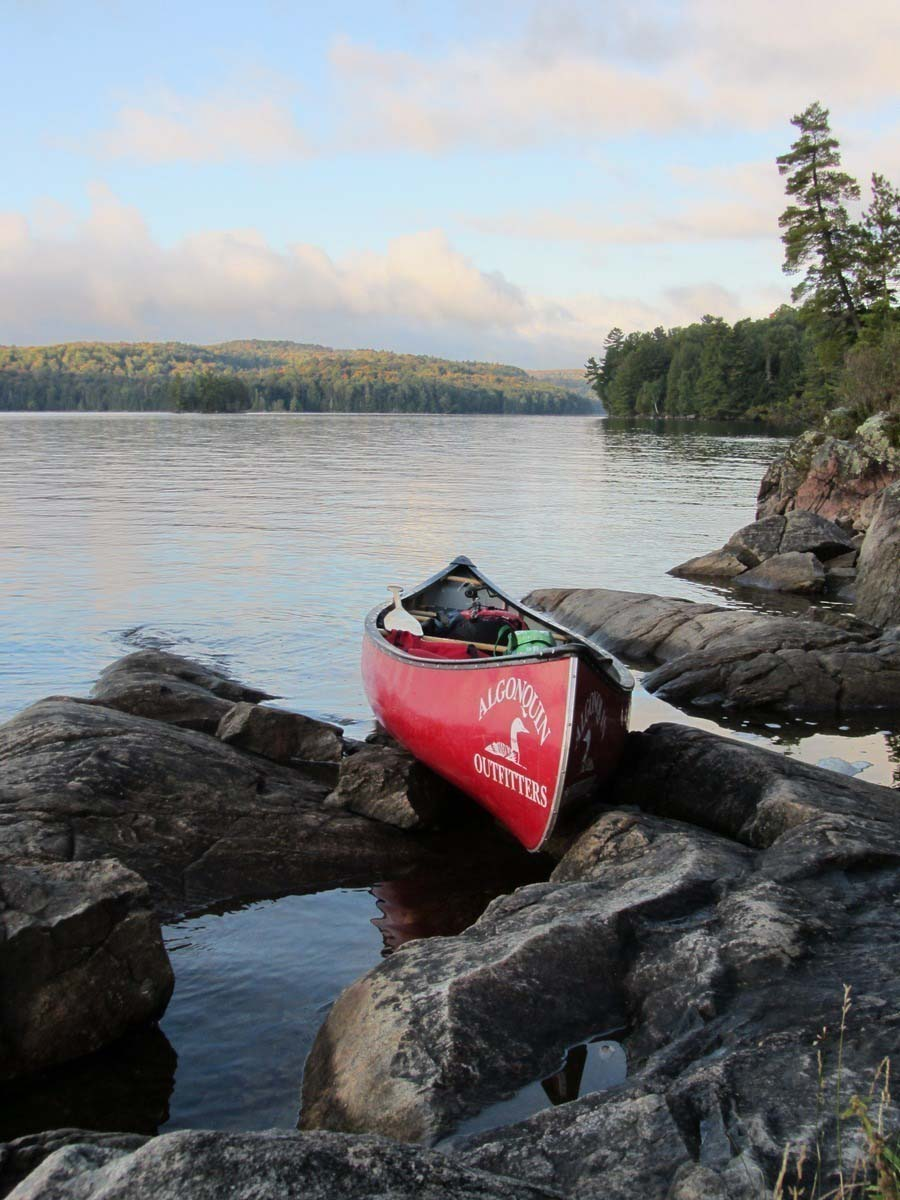 Lightweight Canoe Trip Outfitting Algonquin Park - Algonquin