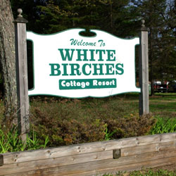 White Birches Cottages Prize