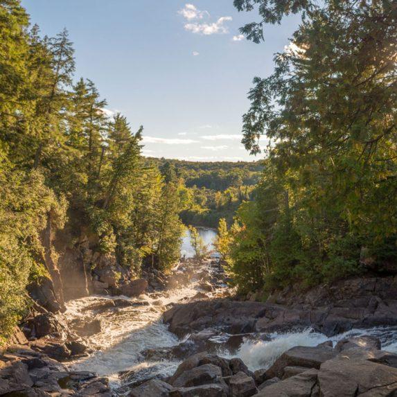 Ragged Falls