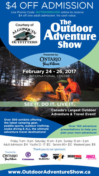 Toronto Outdoor Adventure Show Coupon