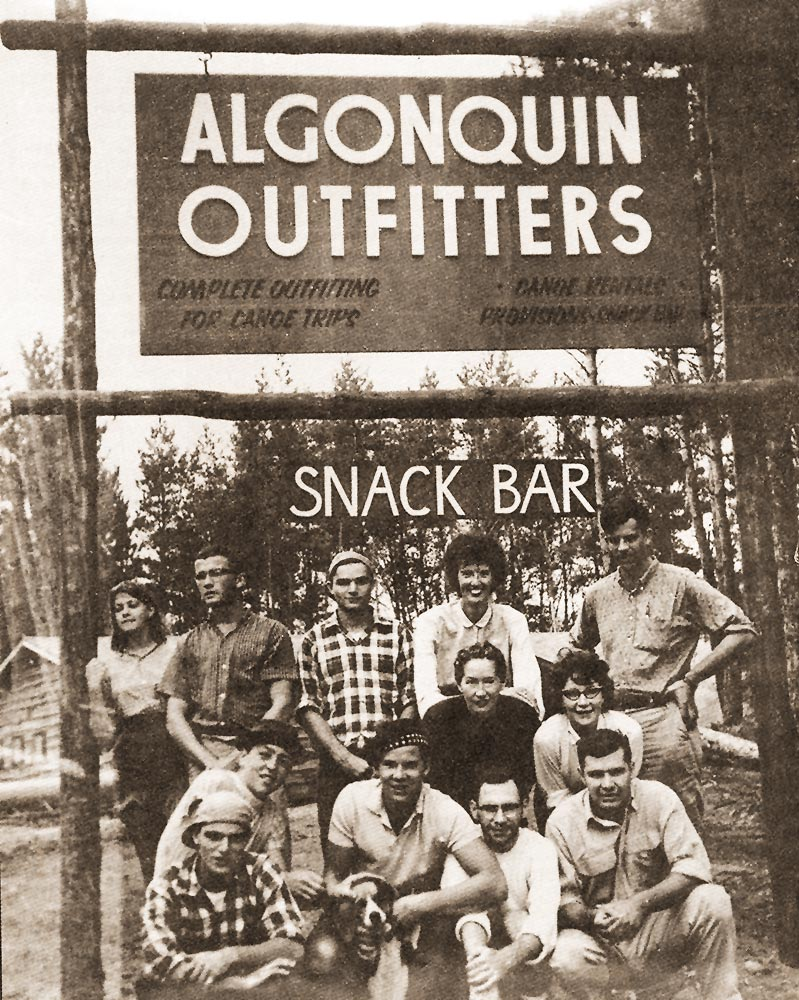 Algonquin Outfitters History - Snack Bar