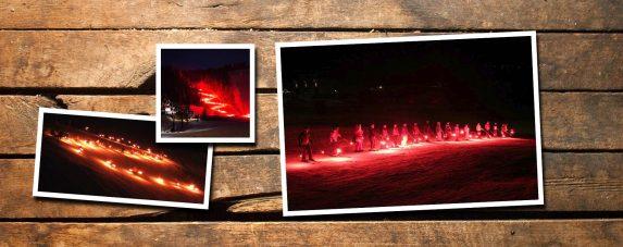 Hidden Valley Torch Light Parade
