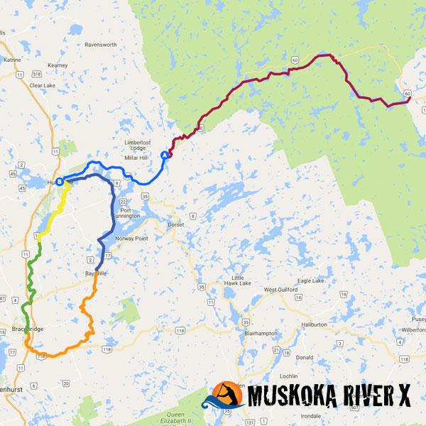 Coureur Des Bois Muskoka River X