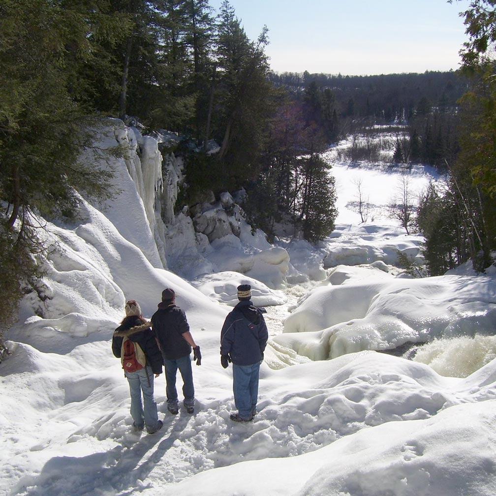 Ragged Falls Winter