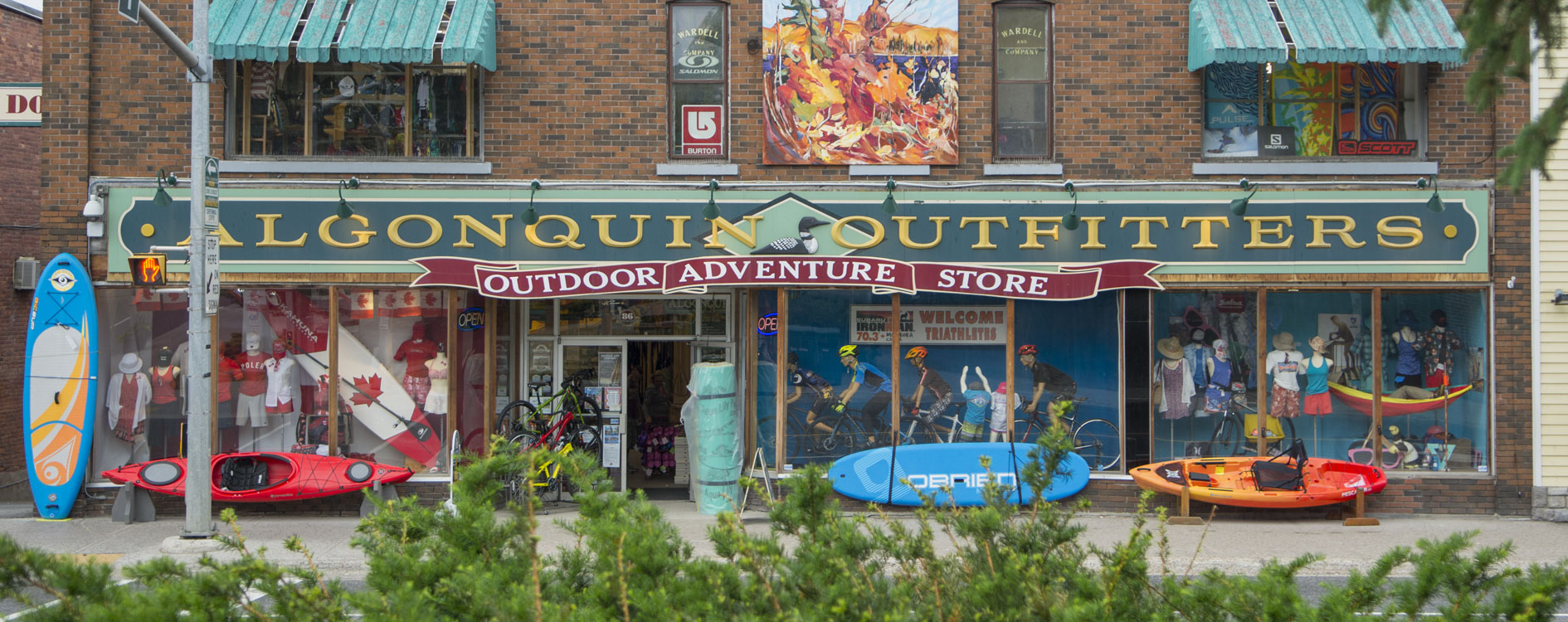 Algonquin Outfitters Online Store