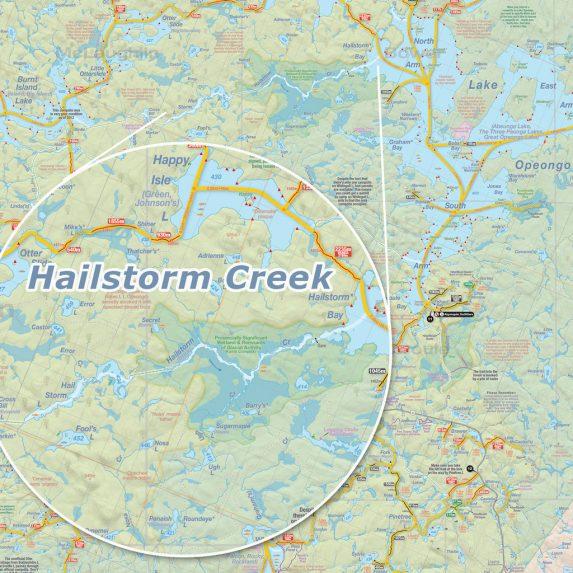 Hailstorm Creek map