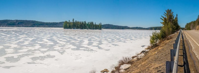 Algonquin Park Spring Ice Out Report 2017