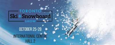 Toronto Ski + Snowboard Show @ International Centre | Mississauga | Ontario | Canada