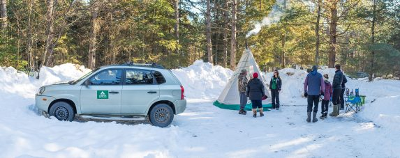 wonderful winter activities in Algonquin Park