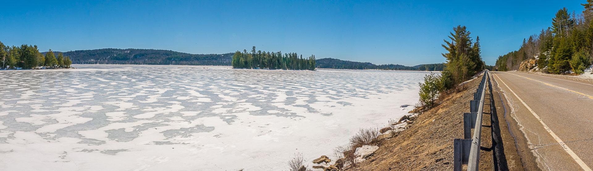Algonquin Provincial Park Ice Out 2017