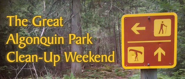 Algonquin Park Clean Up