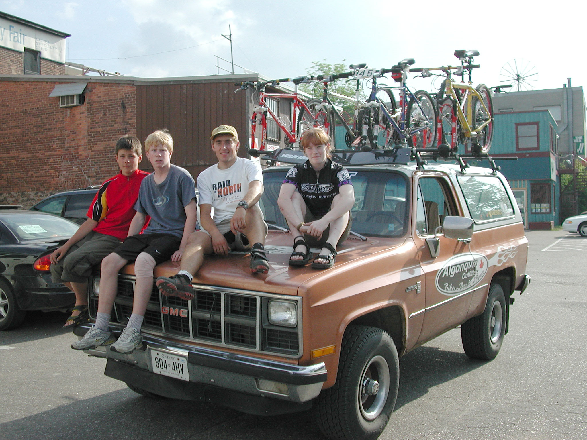 Algonquin Outfitters Bike Night