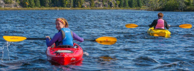 Kayaking Costello Creek