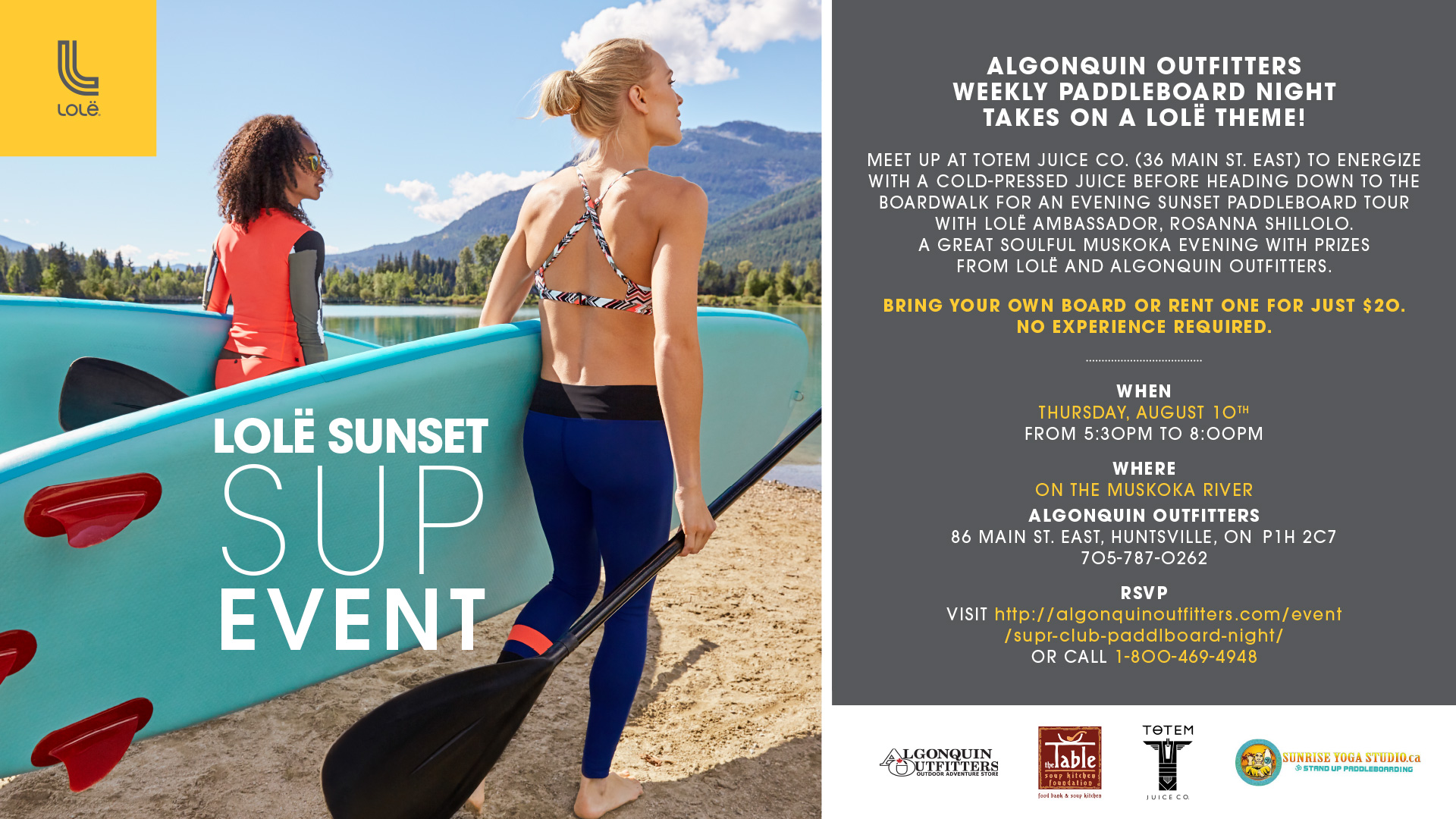 Lole SUP Event