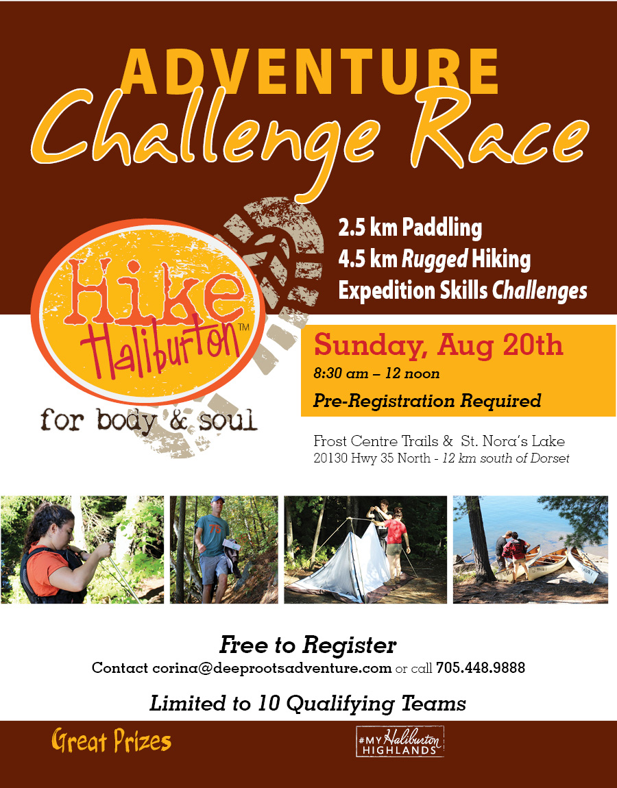 Hike Haliburton Adventure Challenge Race