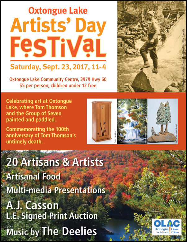 Oxtongue Lake Artists' Day Festival