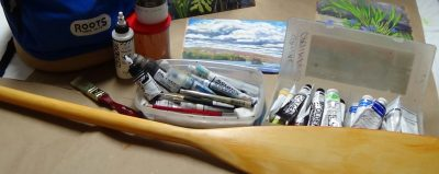 Paint a Paddle with Janine Marson @ PARTNERS HALL, THE ALGONQUIN THEATRE | Huntsville | Ontario | Canada