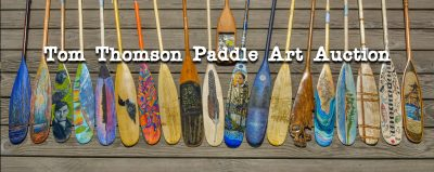 Tom Thomson Paddle Art Auction Event @ Algonquin Theatre | Huntsville | Ontario | Canada