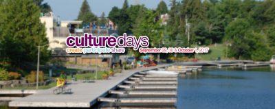 Culture Days 2017