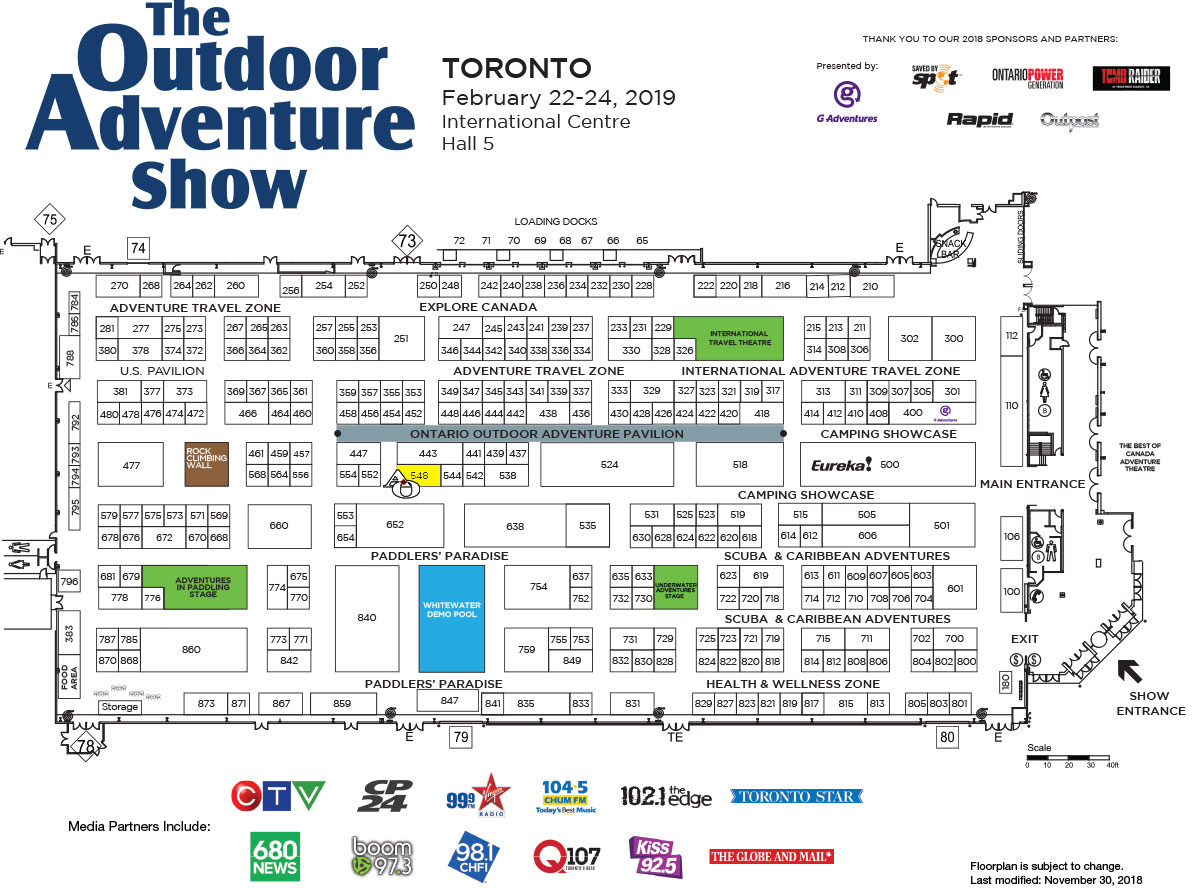 Toronto Outdoor Adventure Show 2019