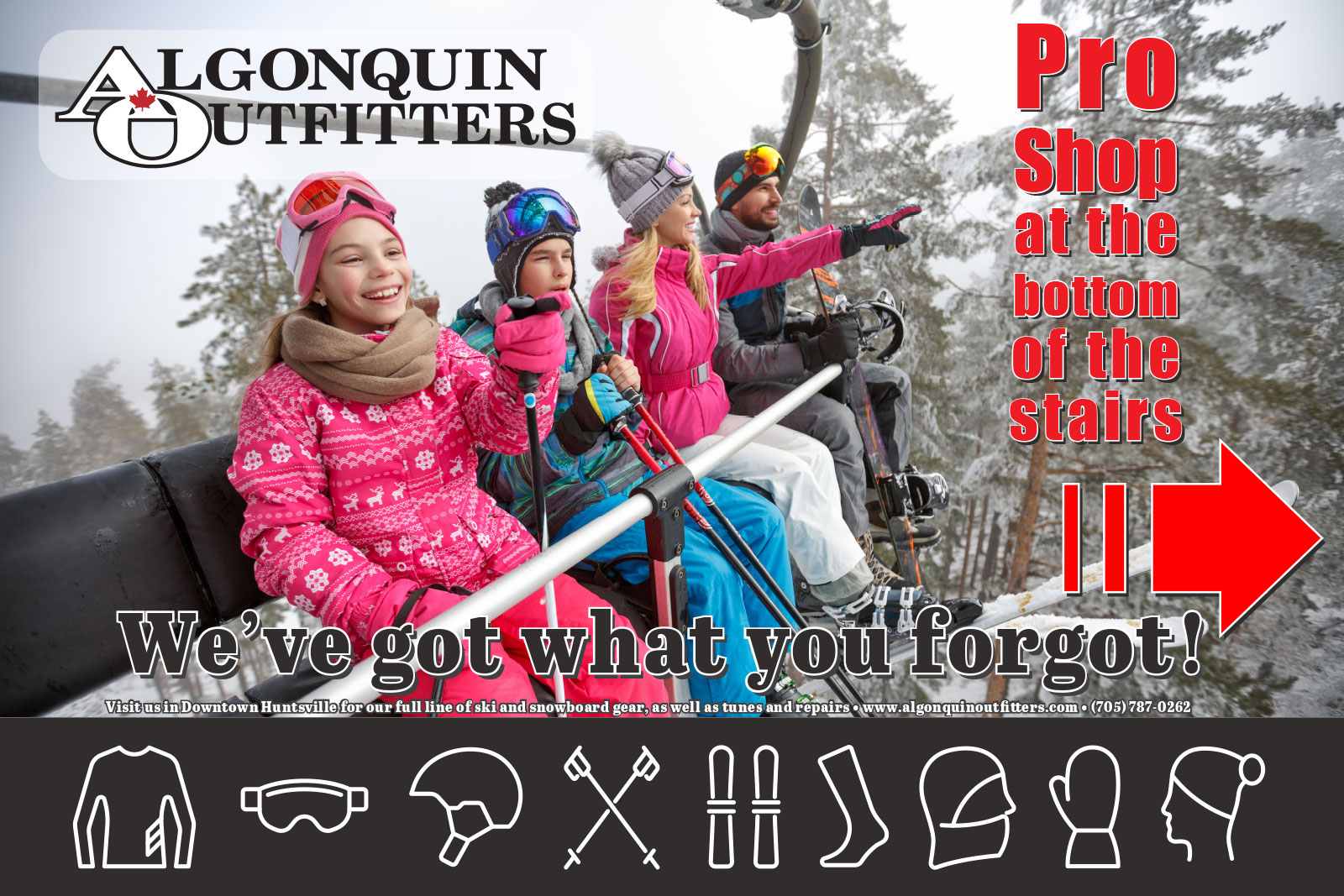 Algonquin Outfitters Pro Shop at Hidden Valley Highlands Ski Area