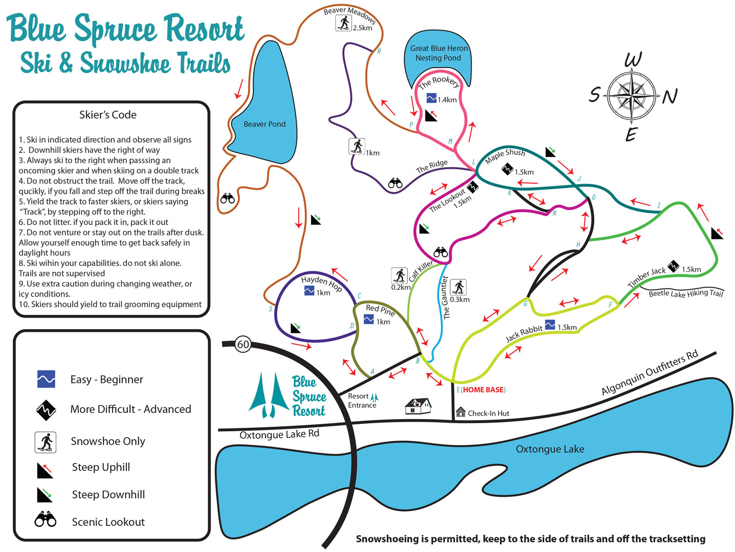 Blue Spruce Ski Trails