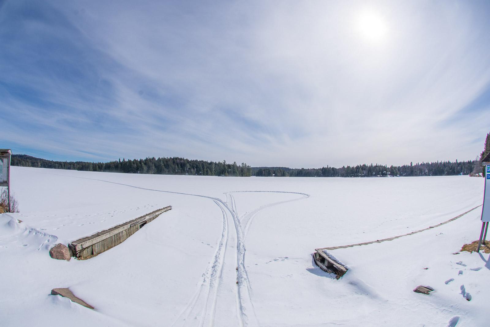 Algonquin Park Ice Out 2018