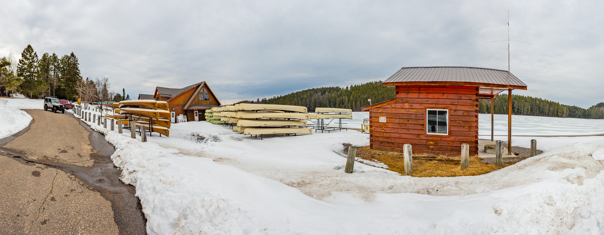Algonquin Outfitters Lake Opeongo Store April 24th