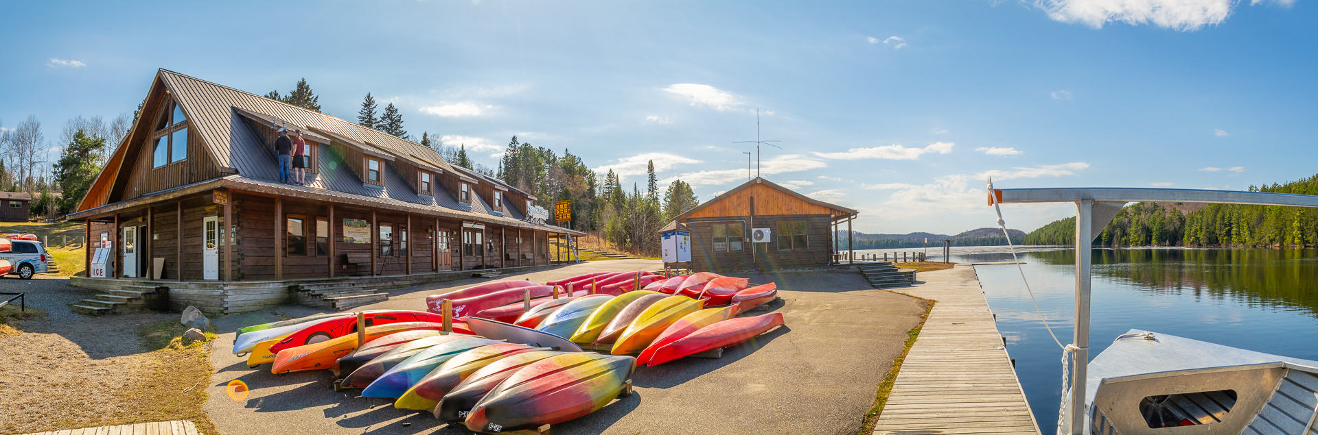 Algonquin Outfitters, Lake Opeongo