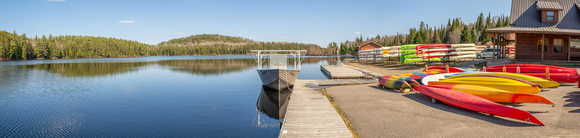 Lake Opeongo, Algonquin Outfitters Water Taxi