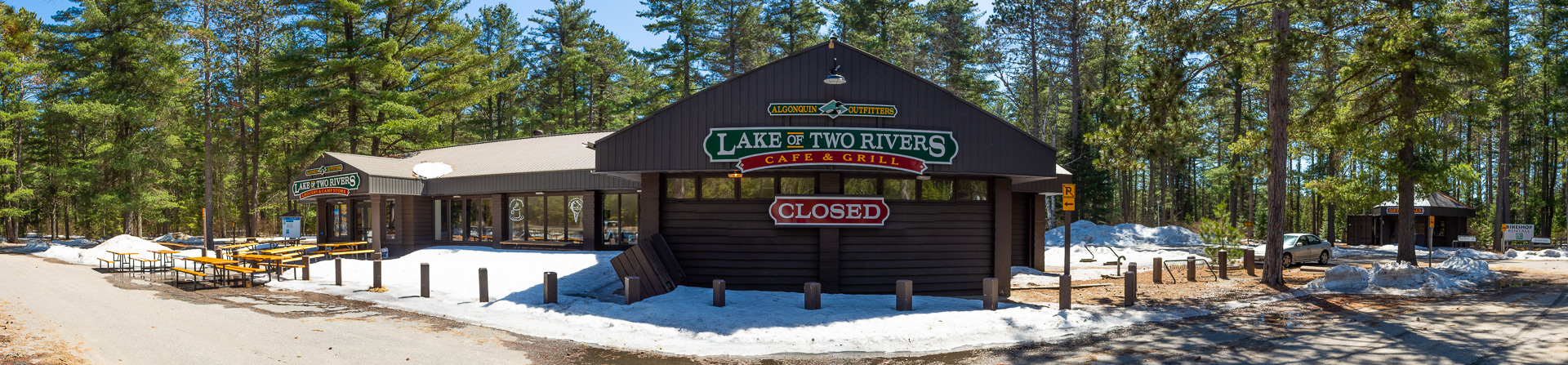 Algonquin Outfitters Lake of Two Rivers Store & Cafe, opens on Thurs May 3rd 2018