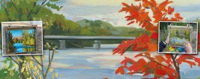 En Plein Air Paint Outs with Janine Marson @ Janine Marson Studio | Huntsville | Ontario | Canada