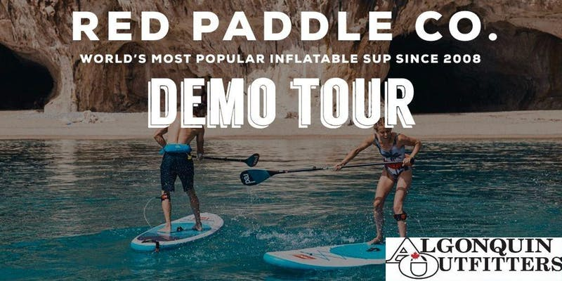 Red Paddle Co Demo Tour