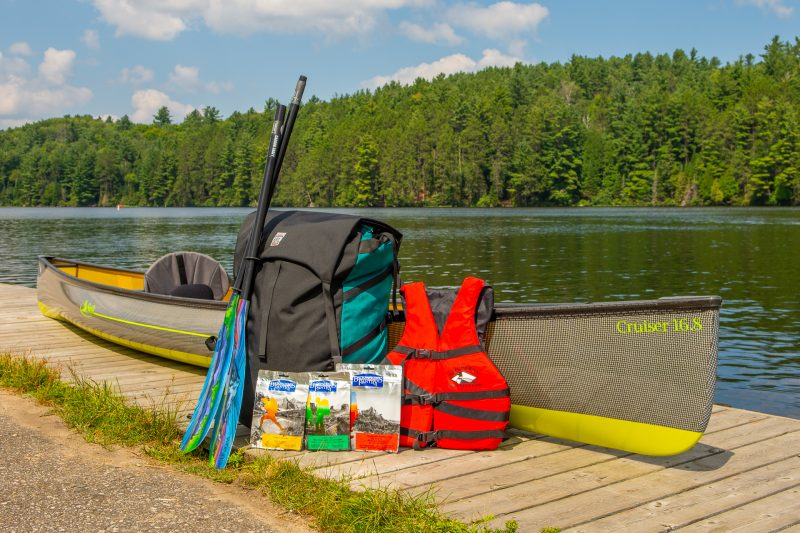 Cruising into Fall - Swift Cruiser Pack Boat - Algonquin Outfitters